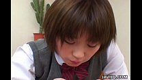Shinobu Kasagi school time blowjob
