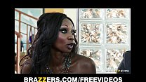 bed in freak a is jackson diamond babe ebony busty Stunning