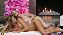 Charlotte Stokely loves lesbo action