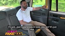 Female Fake Taxi Big sticky facial finish after...