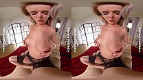 DDFNetwork VR - Nikky Dream Pantyhose beauty in... thumb