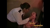 Policewoman and a dominatrix team up to interro...