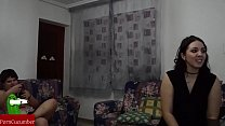 Cam-show: Pam teaching the fat girl and he how ...