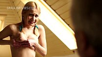 Blonde teen tits gets very rough squeeze Thumbnail