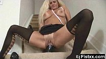 Giga Titty Passionate Fisting Milf Rammed
