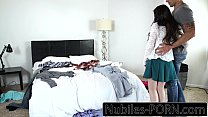 Nubiles-Porn - First big cock for young amateur