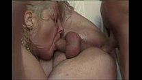 French mature bi couple fucked hard by a porn actor