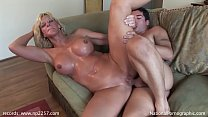 TJ Powers fucks waiter in her bungalow in summe...