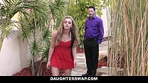 DaughterSwap - Naughty Blonde Teen Caught on We...