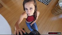 Very tight teen stepsis Kharlie Stone gets ruined by stepbro