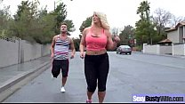 Mature Busty Wife (alura jenson) Perform In Har...