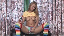 Pacinos Adventures - Tania Spice playing with h...