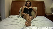 I want you to shoot your hot cum on my soft feet
