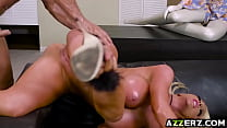 Blonde Nicolette Shea gets wild and horny