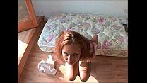 Teen Slut With Great Legs Walks Around Searching For Cock