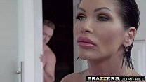 Brazzers - Mommy Got Boobs - Clueless Cum Lesso...