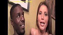 Filling Black Cum On Brunette Cougar