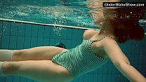 Big titted Dashka bounces body underwater Thumbnail