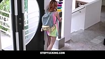 Hot traveling teen fucked by older step uncle- ...