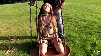 Submissive Russian fairies Caged and Ass Fucked...