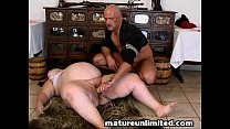 Fat Milf fucking her fat pussy