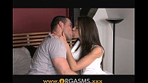 Orgasms - He cums inside her incredible pussy
