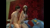 couple amateur Young