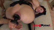 Alysa Gap gets her asshole FULLY destroyed by a...