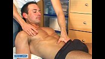 Marco swimmer guy get wanked his huge cock. Thumbnail
