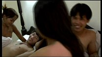 Asian threesome Thumbnail