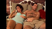 Pretty pregnant mature brunette loves the taste...