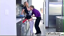 Hard Sex Tape In Office With Big Round Tits Sexy Girl (Nicole Aniston) video-23