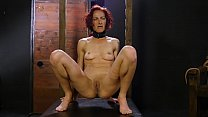 Redhead slut struggling with torture Thumbnail