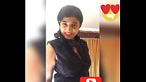 Selfie video by Indian Bangalore girl Sara