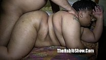20 yr old BBW gangbanged by BBC monster dick re...