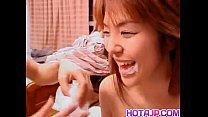 Yuka Sakagami has hairy crack screwed by them