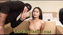 Loving Ladyboy With Small Purple Bell End