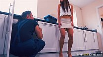 some... get daughter step her helps mom - Brazzers