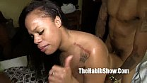 snicka too much bbc dick gangbanged by bbc gudd...