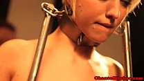Bondage submissive tormented roughly