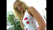 Ass Traffic Blonde Sandra is double drilled in ...