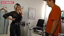 LETSDOEIT - German Wife Seduced and Fucked by the Doctor