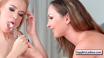 Sapphic Erotica Lesbos Free xxx video from www.SapphicLesbos.com 08 - Download mp4 XXX porn videos