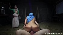 Muslim teen fuck Sneaking in the Base! Thumbnail