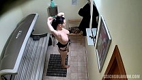 Beautiful Brunette on Voyeur Hidden Cam