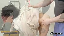 cked sweetie was taken in anal hole asylum for painful treatment
