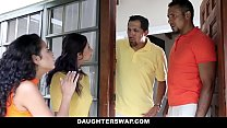 DaughterSwap - Creepy Dads Film Daughters Porn Audition Thumbnail