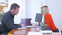 Office Obsession - She Gets The Job  starring  Katrin Tequila and Victor Solo clip porn videos