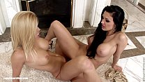 Lovemaking the lesbian way with Aletta and Wivi...