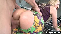 fucked ass great a with milf Blonde